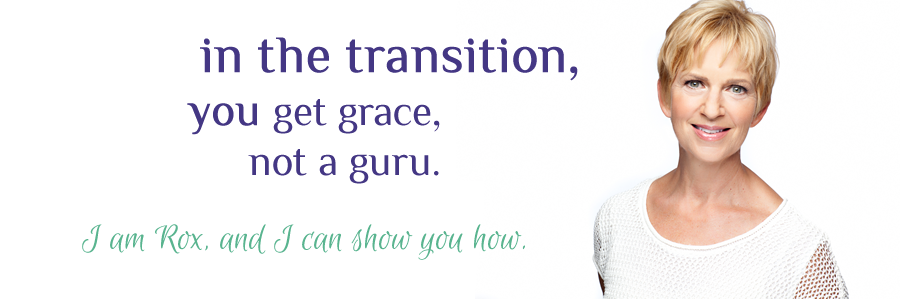 Get grace, not a guru. Rox can show you how.
