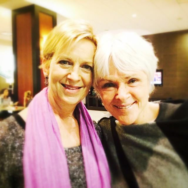 Roxanne Darling and Byron Katie